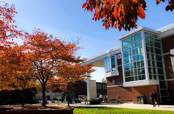 Fall, Student Center